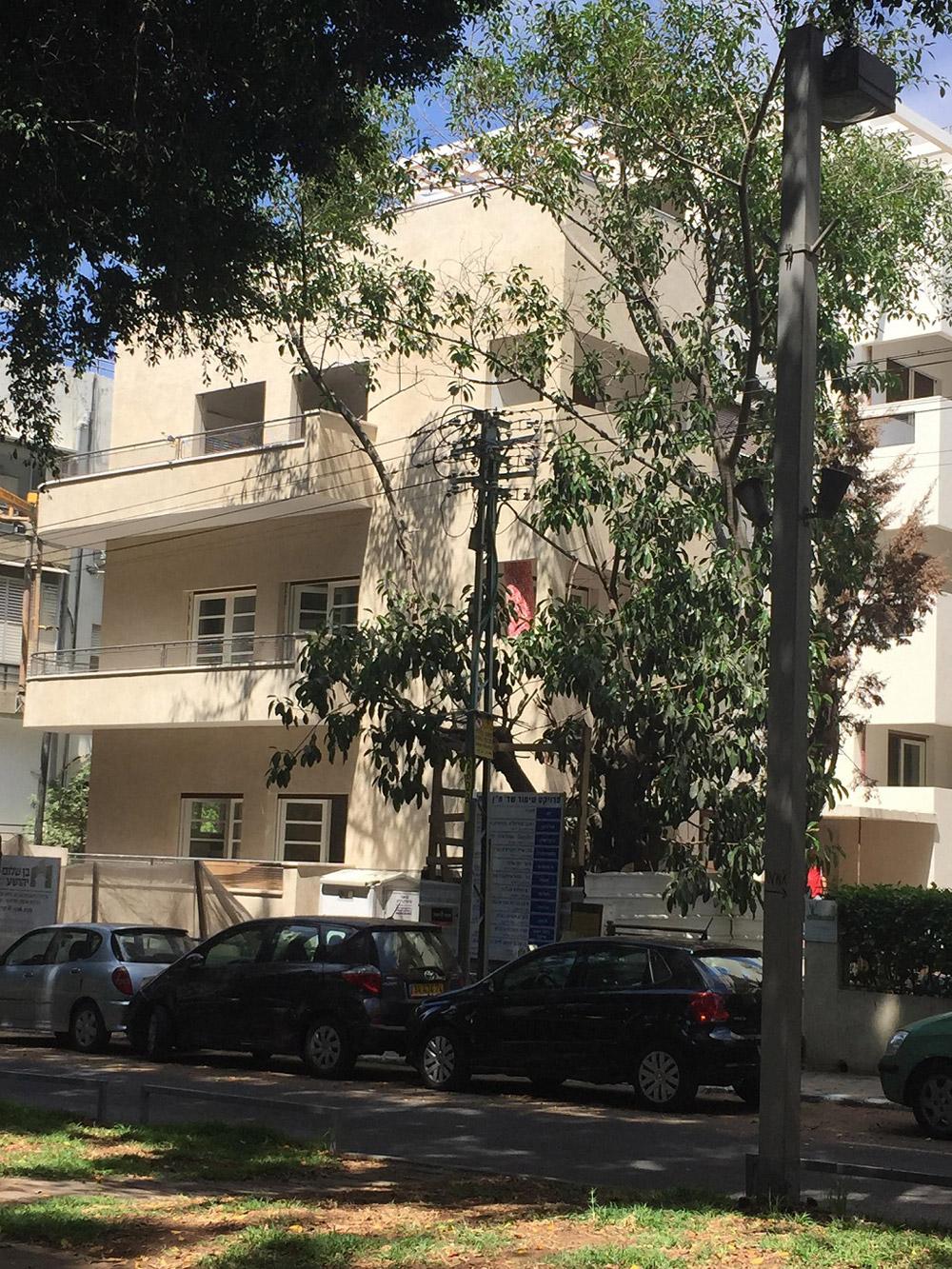 שד' חן 8, תל אביב - בניין לשימור