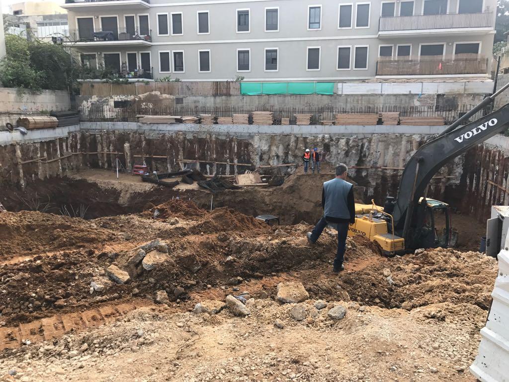 עבודות חפירה למרתפים